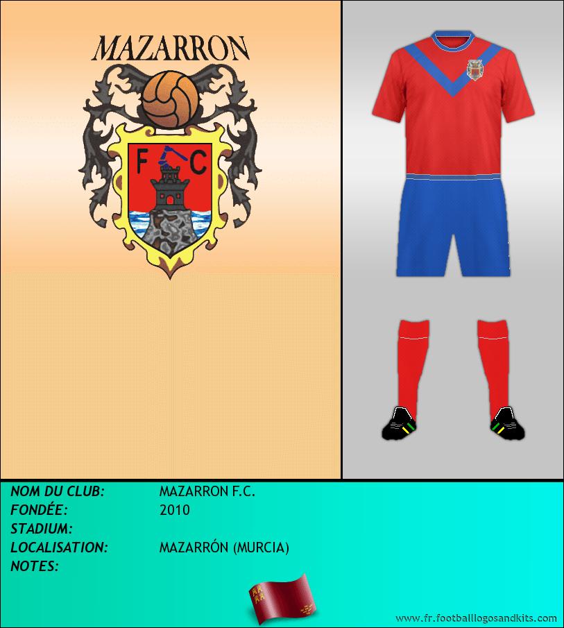 Logo de MAZARRON F.C.
