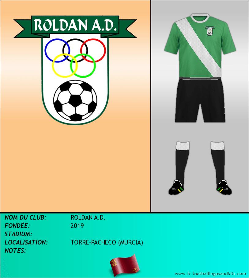 Logo de ROLDAN A.D.