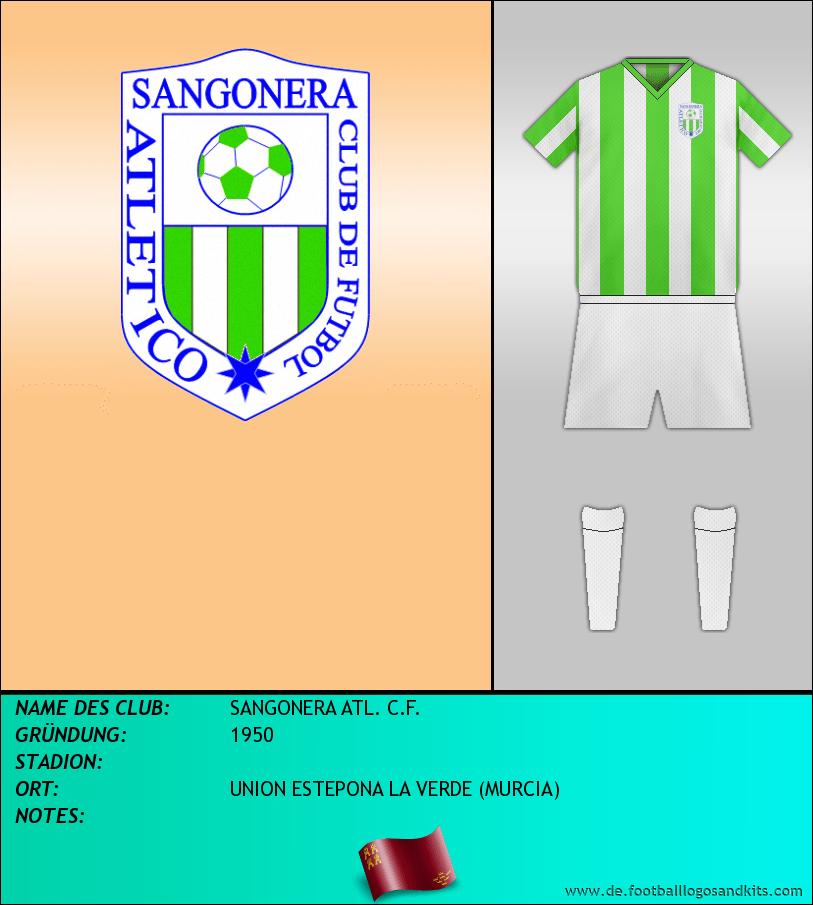 Logo SANGONERA ATL. C.F.