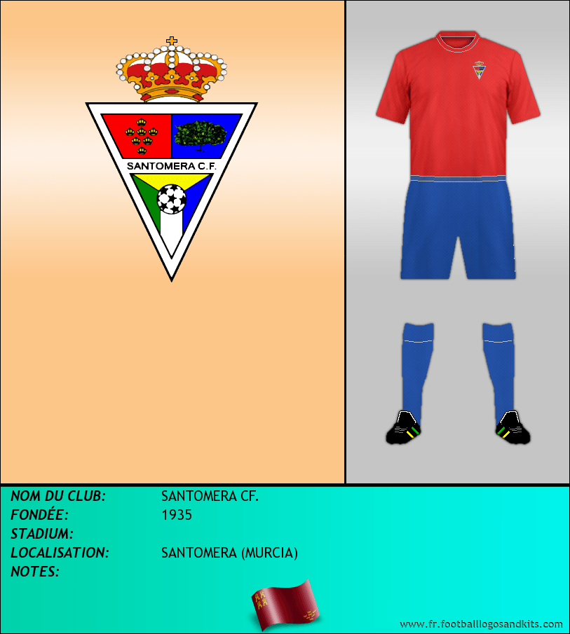 Logo de SANTOMERA CF.