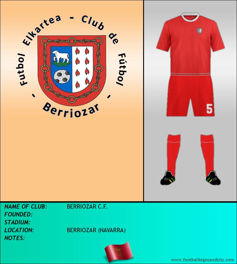 Logo of BERRIOZAR C.F.