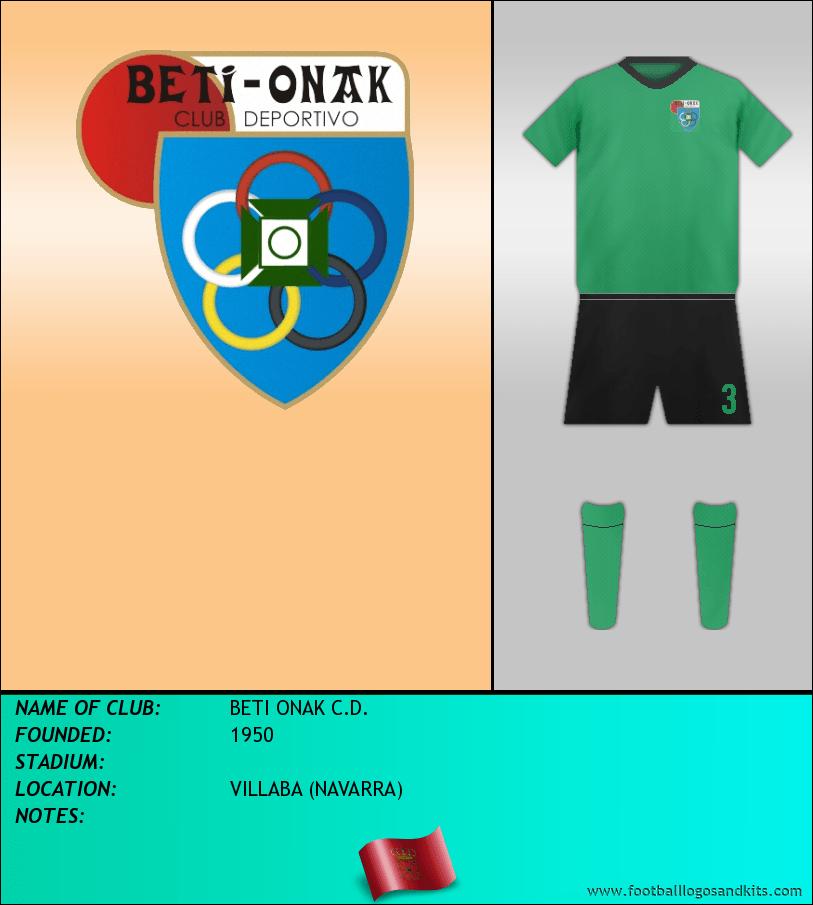 Logo of BETI ONAK C.D.