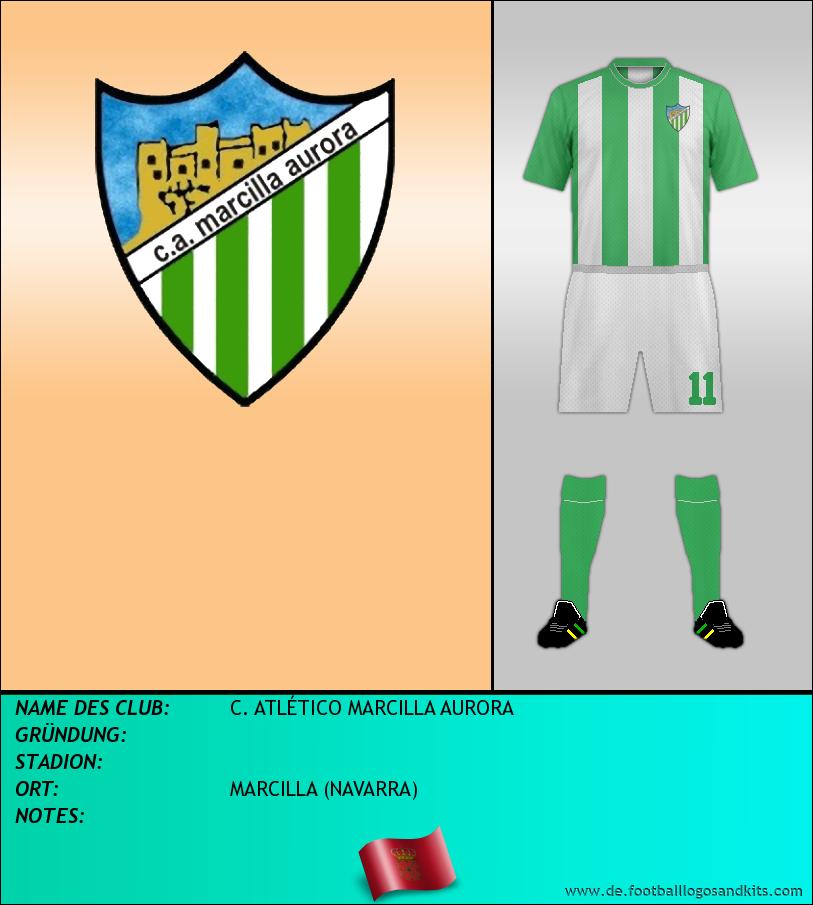 Logo C. ATLÉTICO MARCILLA AURORA