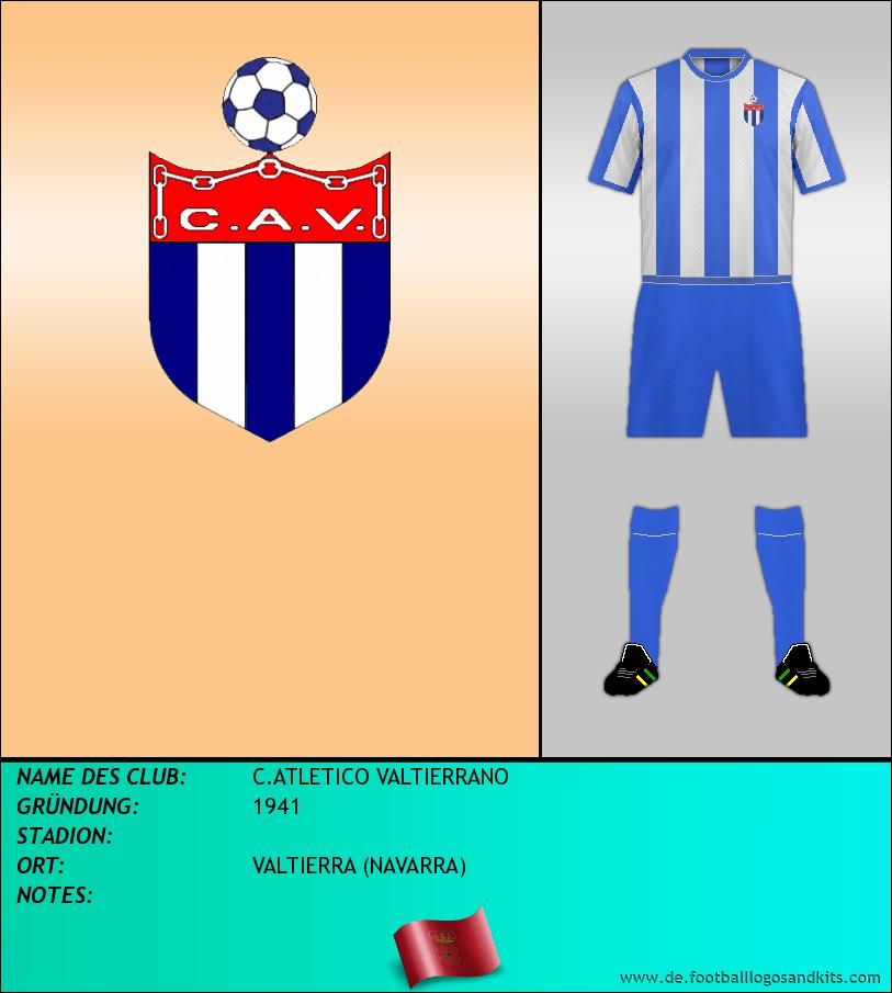 Logo C.ATLETICO VALTIERRANO