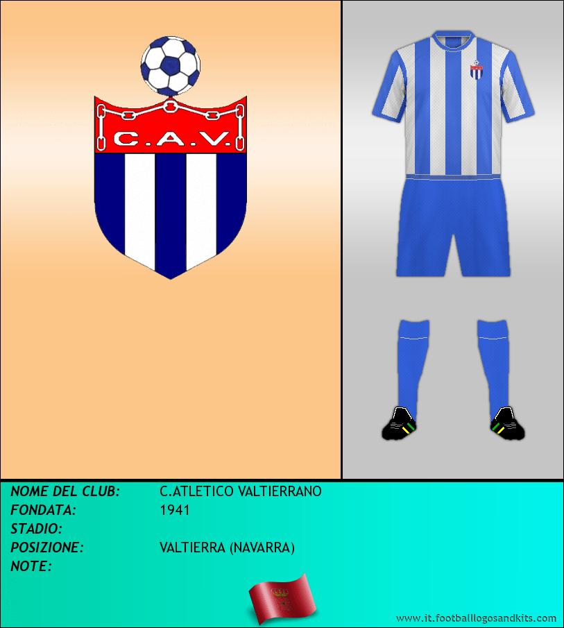 Logo di C.ATLETICO VALTIERRANO