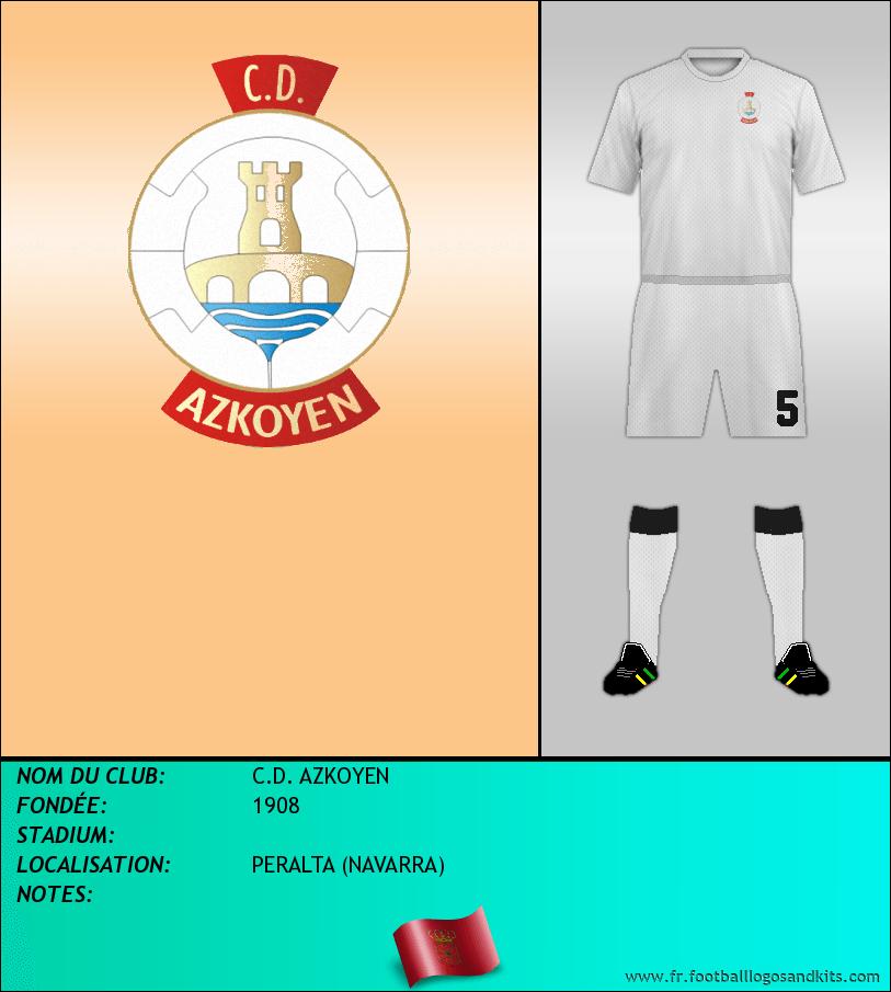 Logo de C.D. AZKOYEN
