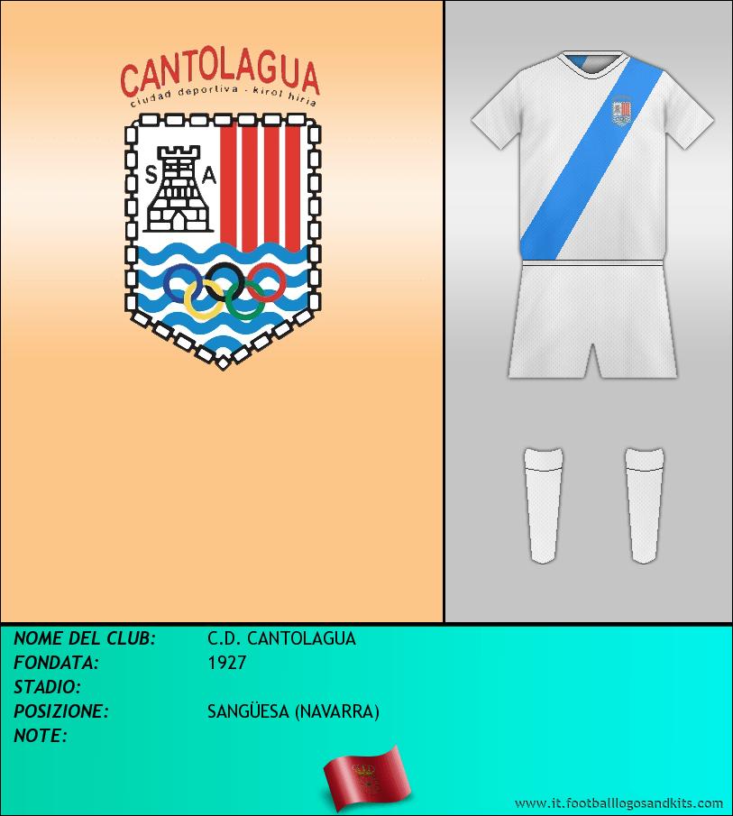 Logo di C.D. CANTOLAGUA