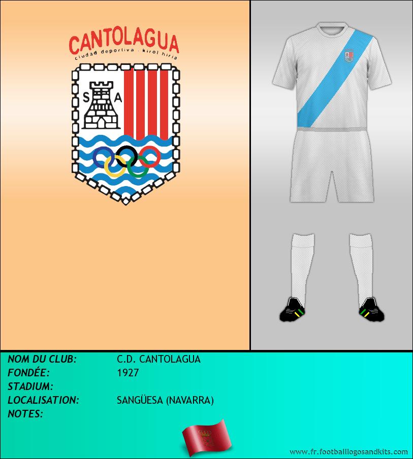 Logo de C.D. CANTOLAGUA