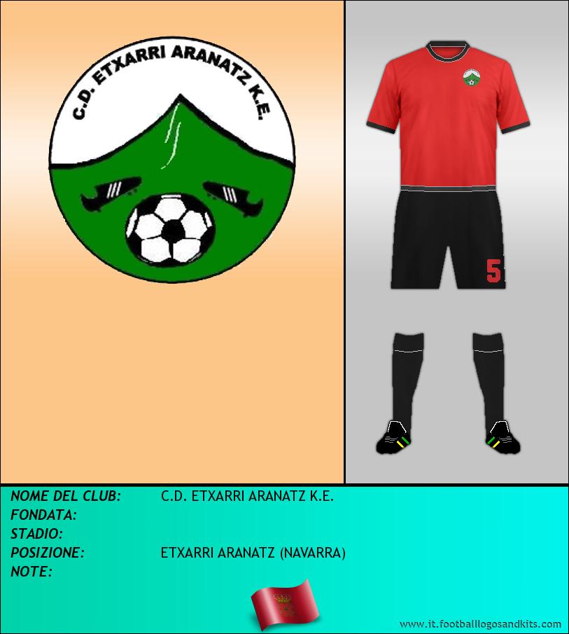 Logo di C.D. ETXARRI ARANATZ K.E.