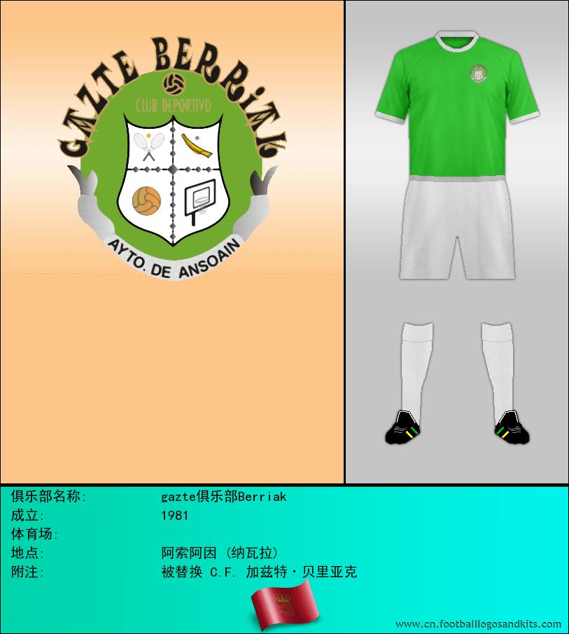 标志gazte俱乐部Berriak