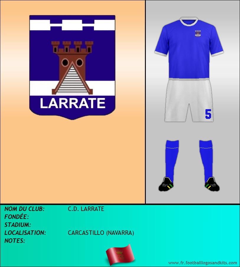Logo de C.D. LARRATE