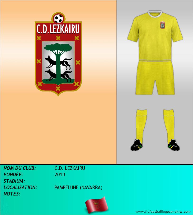 Logo de C.D. LEZKAIRU