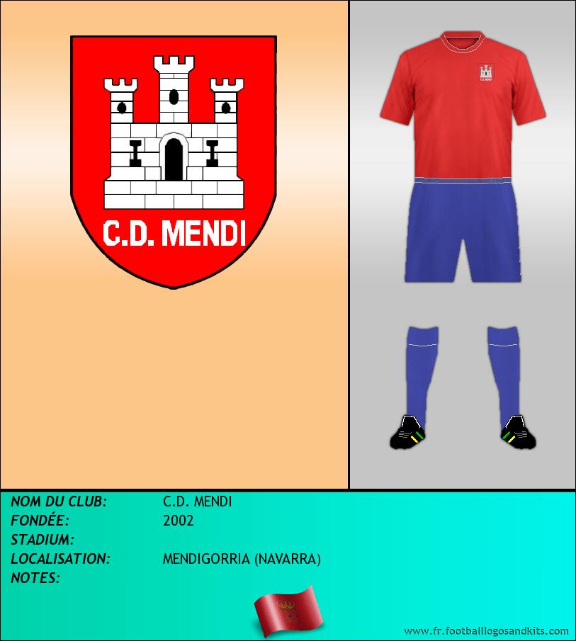 Logo de C.D. MENDI