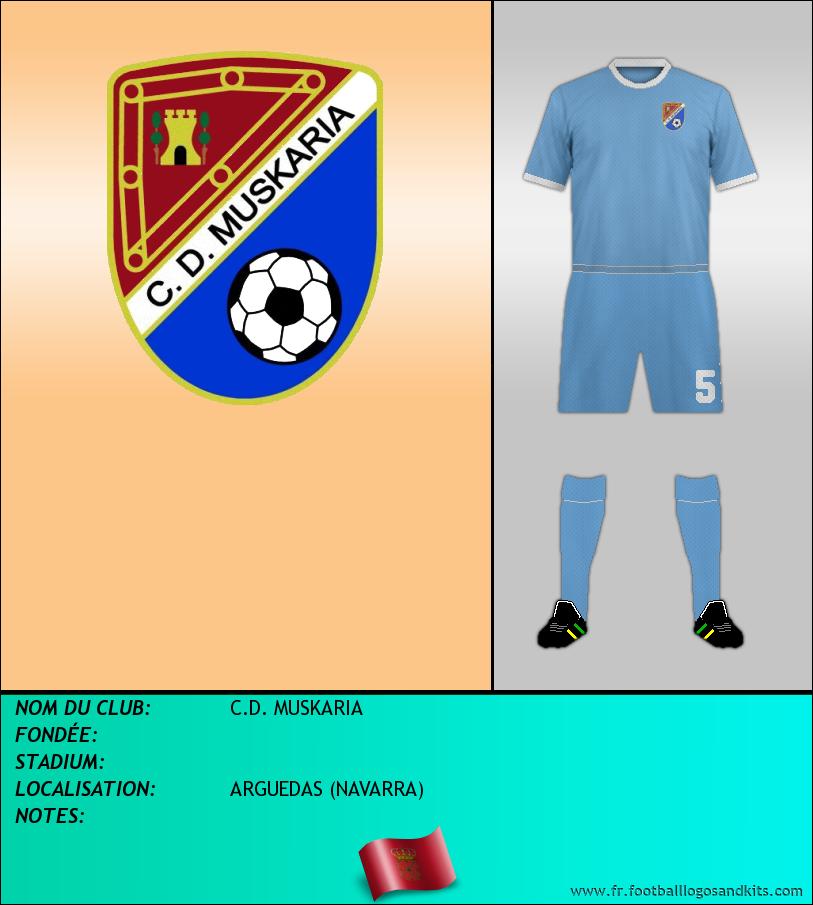 Logo de C.D. MUSKARIA