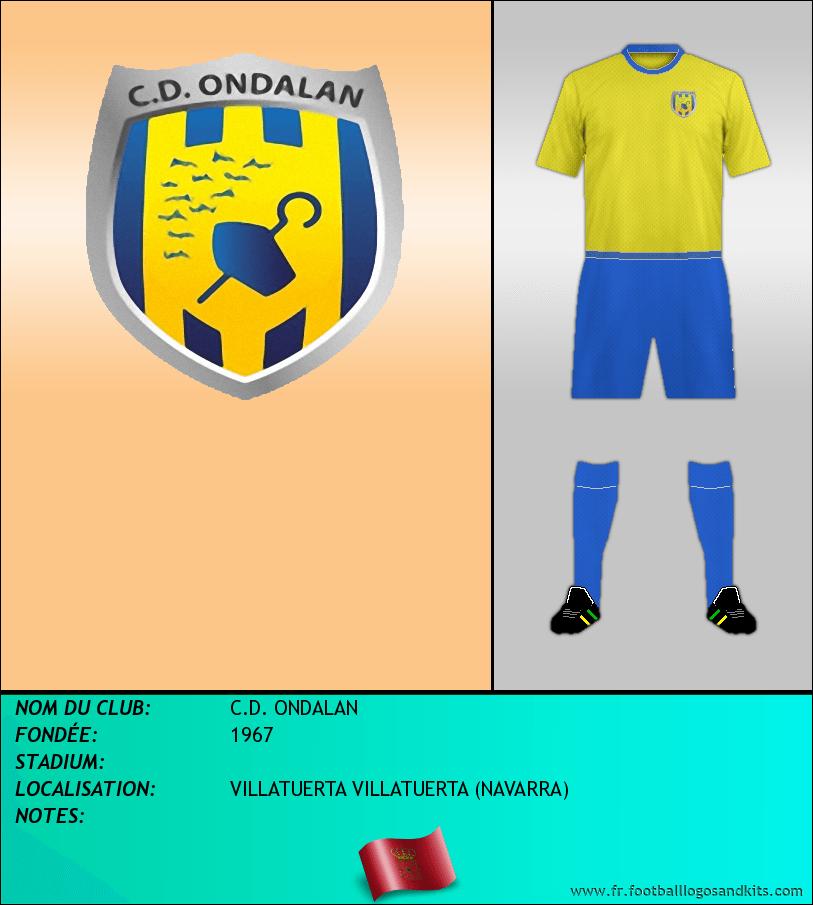 Logo de C.D. ONDALAN