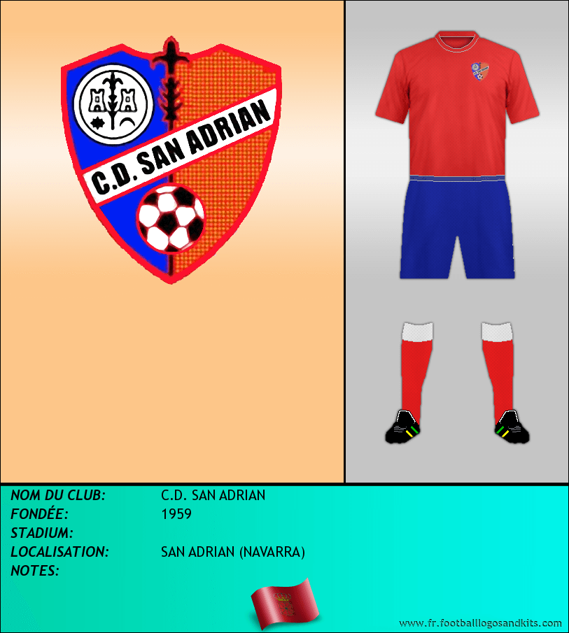 Logo de C.D. SAN ADRIAN