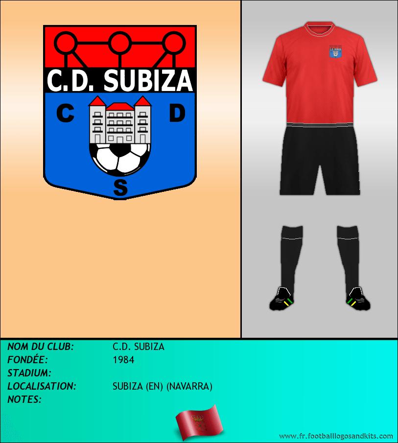Logo de C.D. SUBIZA