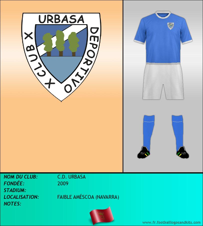 Logo de C.D. URBASA
