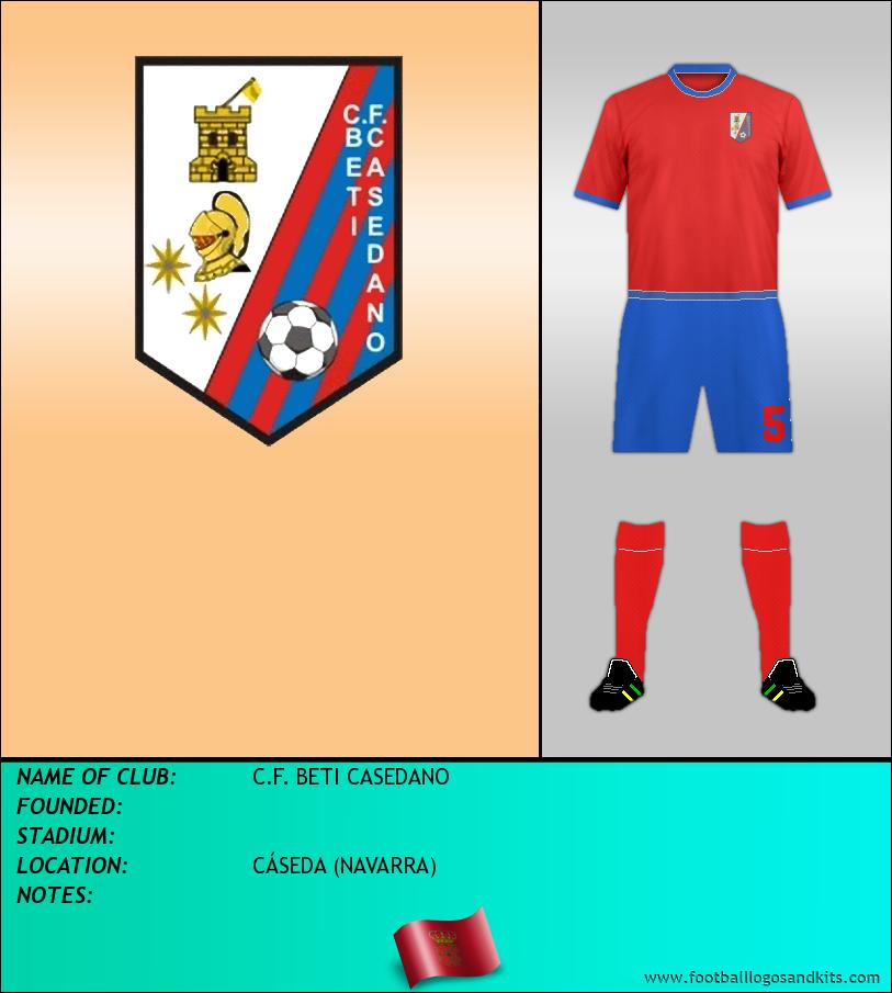 Logo of C.F. BETI CASEDANO
