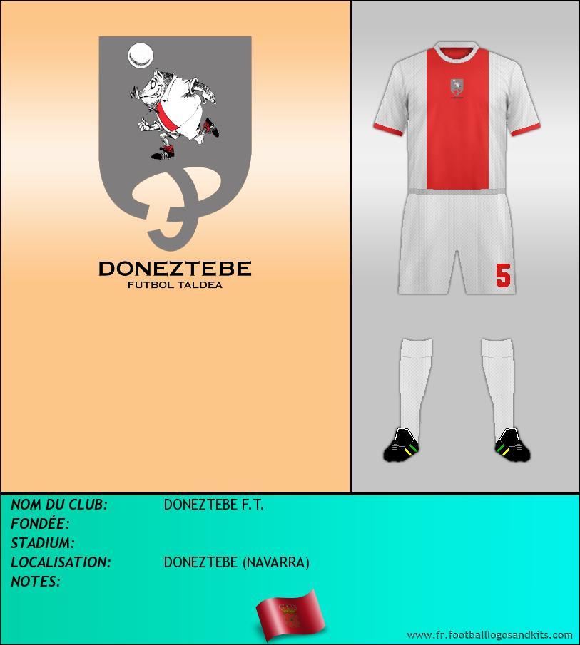 Logo de DONEZTEBE F.T.