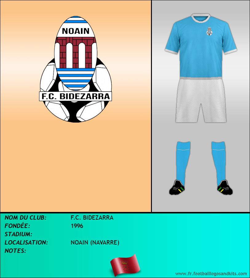 Logo de F.C. BIDEZARRA