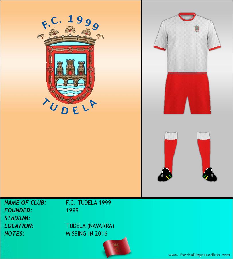 Logo of F.C. TUDELA 1999