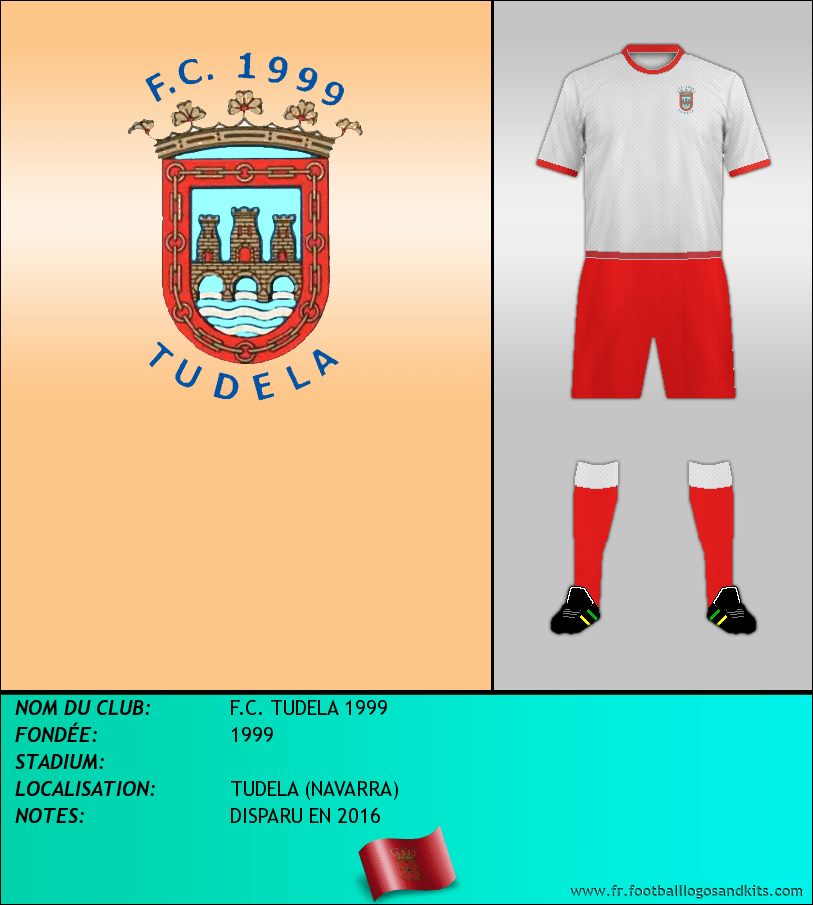 Logo de F.C. TUDELA 1999