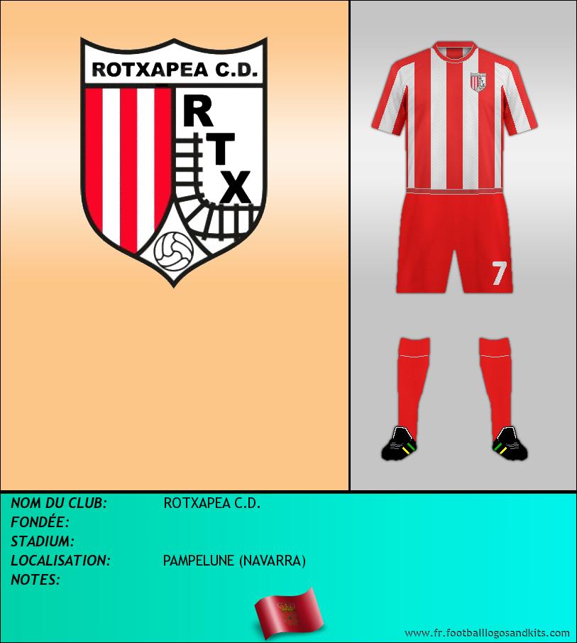 Logo de ROTXAPEA C.D.