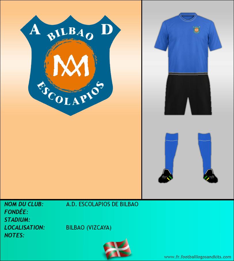 Logo de A.D. ESCOLAPIOS DE BILBAO