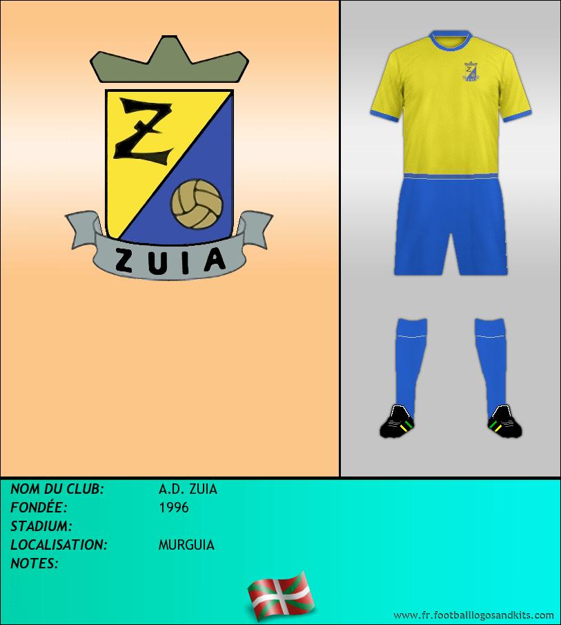 Logo de A.D. ZUIA