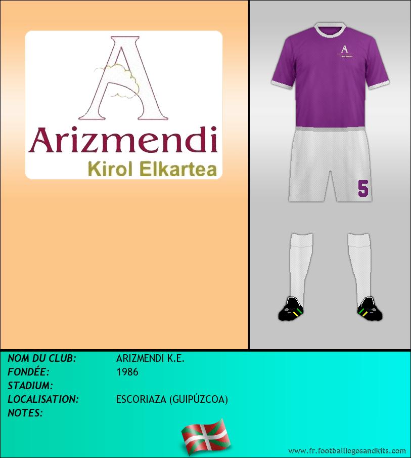 Logo de ARIZMENDI K.E.