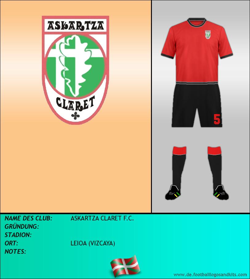 Logo ASKARTZA CLARET F.C.