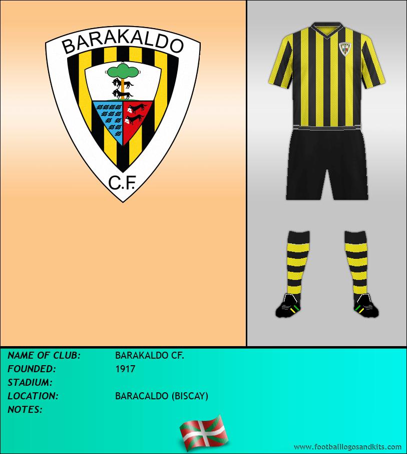 Logo of BARAKALDO CF.