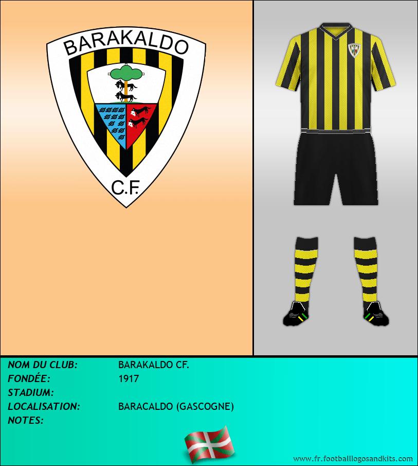 Logo de BARAKALDO CF.