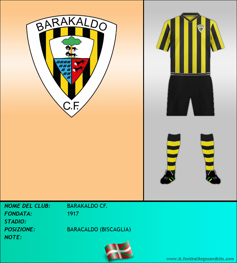Logo di BARAKALDO CF.