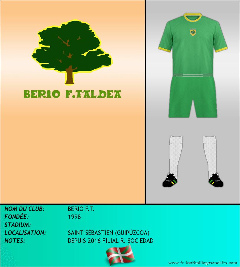 Logo de BERIO F.T.