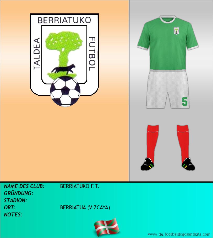 Logo BERRIATUKO F.T.