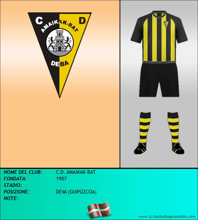 Logo di C.D. AMAIKAK-BAT