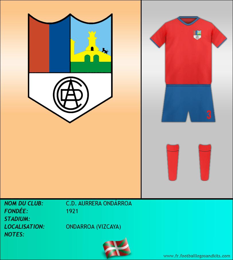 Logo de C.D. AURRERA ONDÁRROA