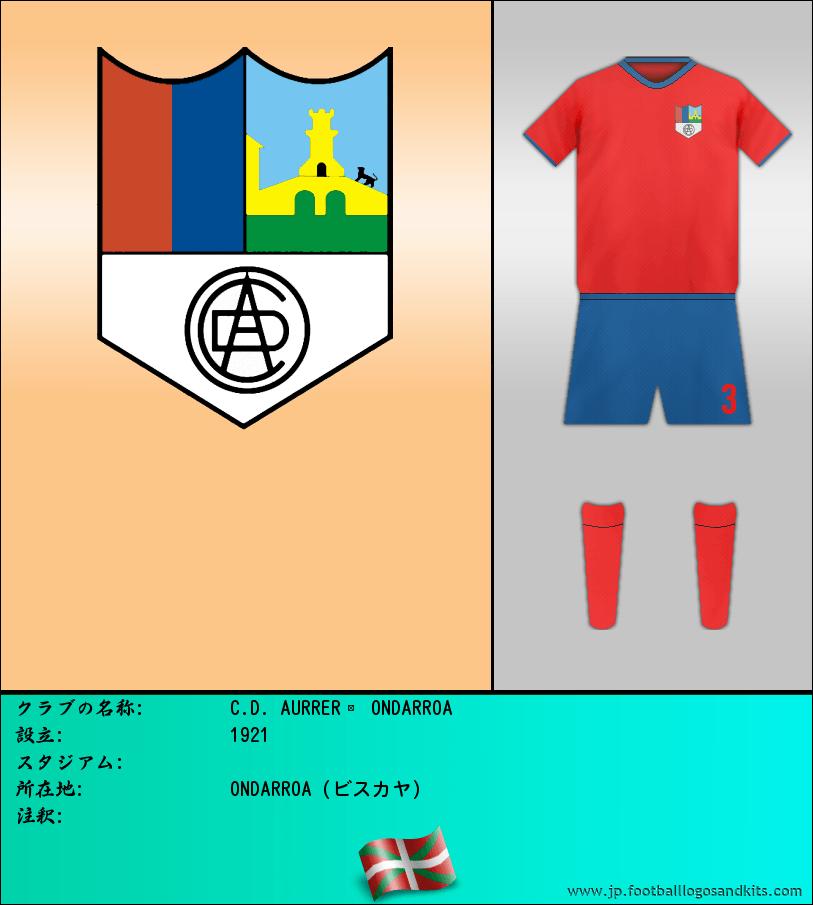 のロゴC.D. AURRERÁ ONDARROA
