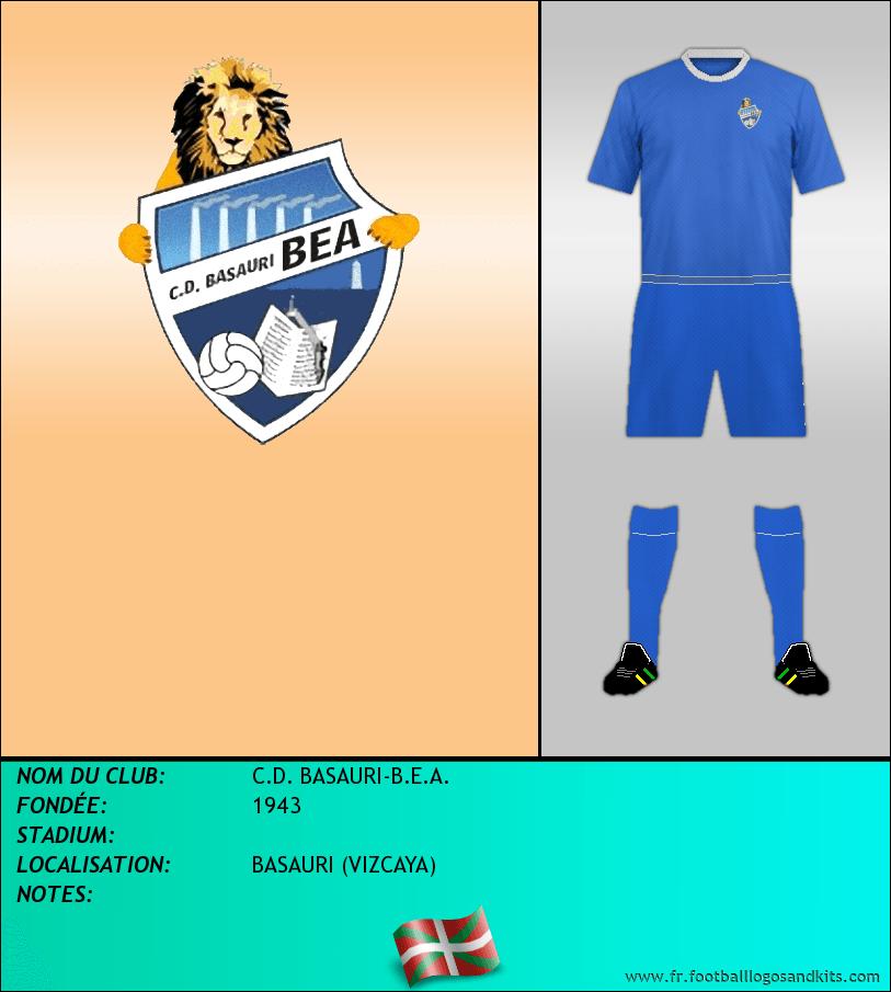 Logo de C.D. BASAURI-B.E.A.