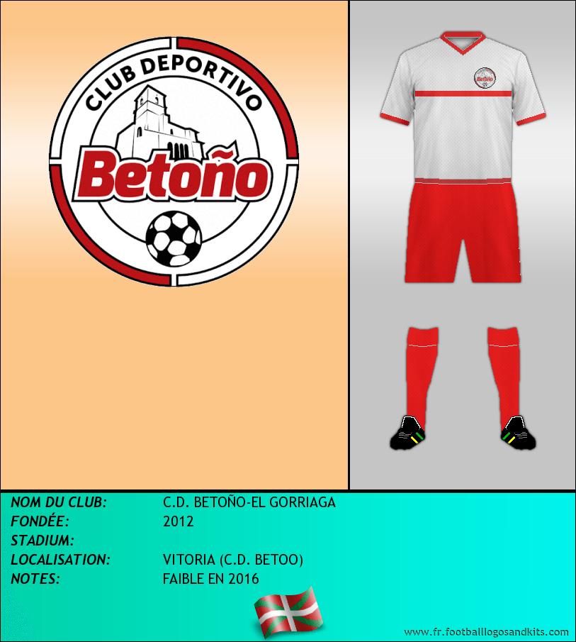 Logo de C.D. BETOÑO-EL GORRIAGA