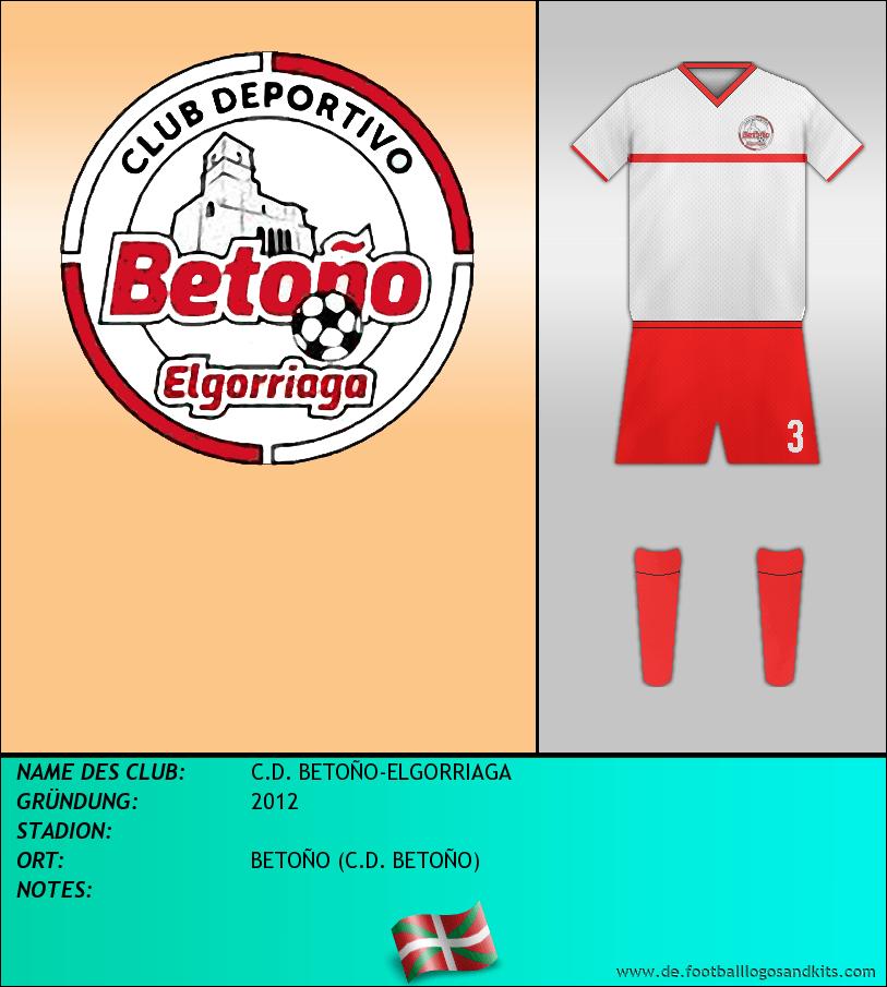 Logo C.D. BETOÑO-ELGORRIAGA