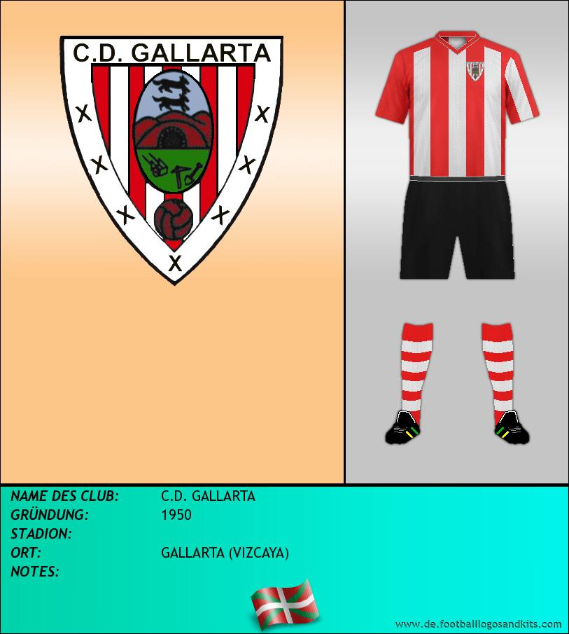 Logo C.D. GALLARTA