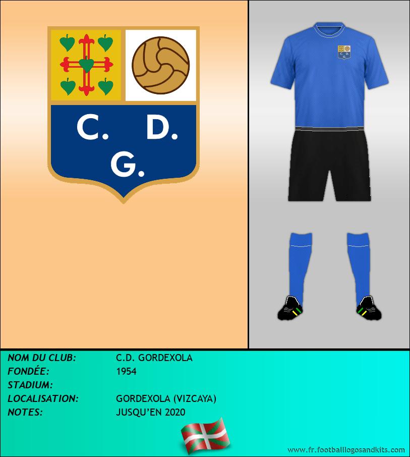 Logo de C.D. GORDEXOLA