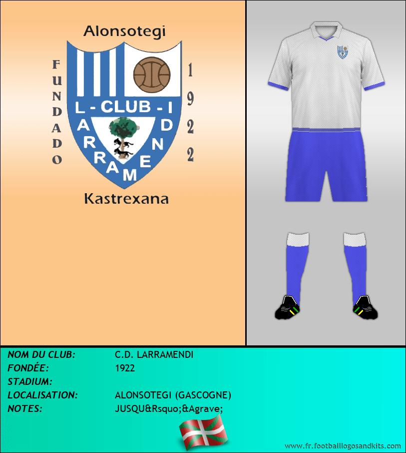 Logo de C.D. LARRAMENDI
