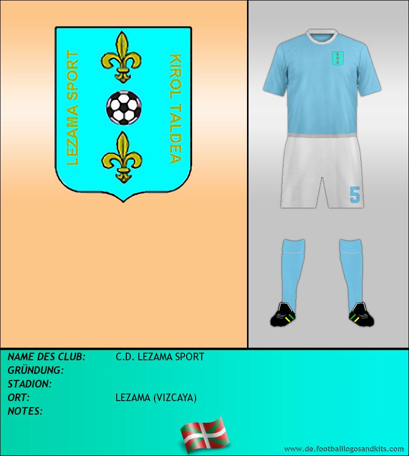 Logo C.D. LEZAMA SPORT