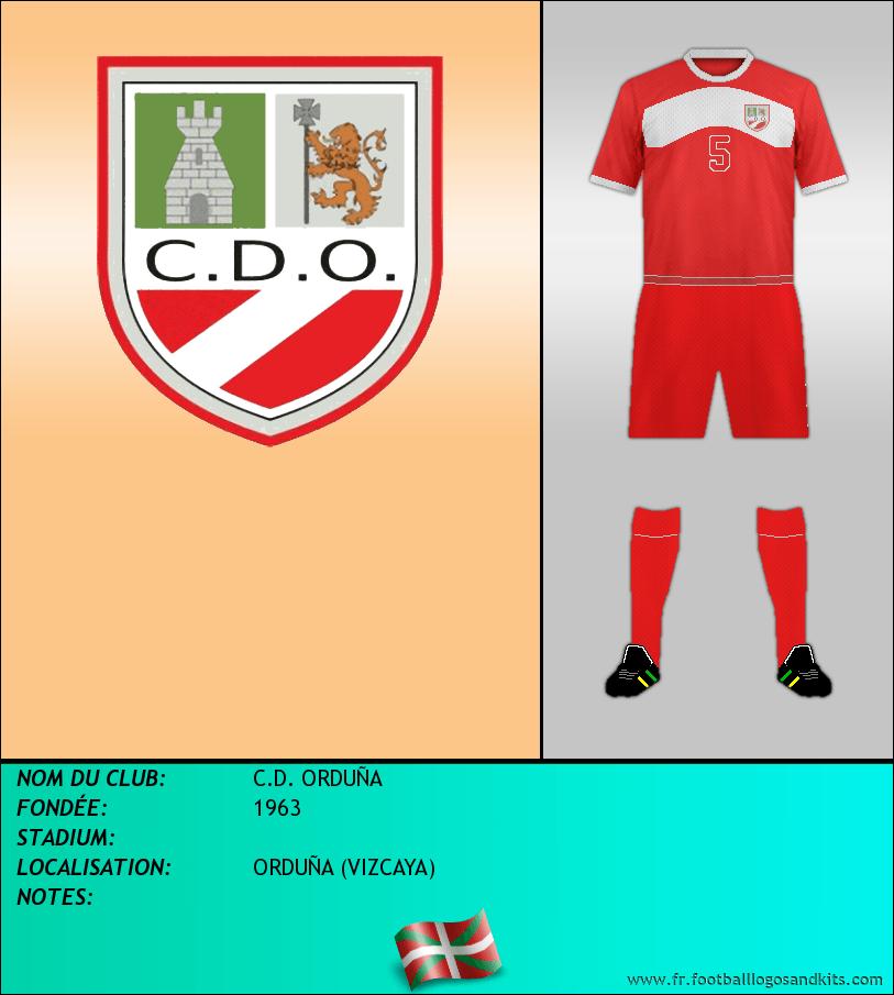Logo de C.D. ORDUÑA