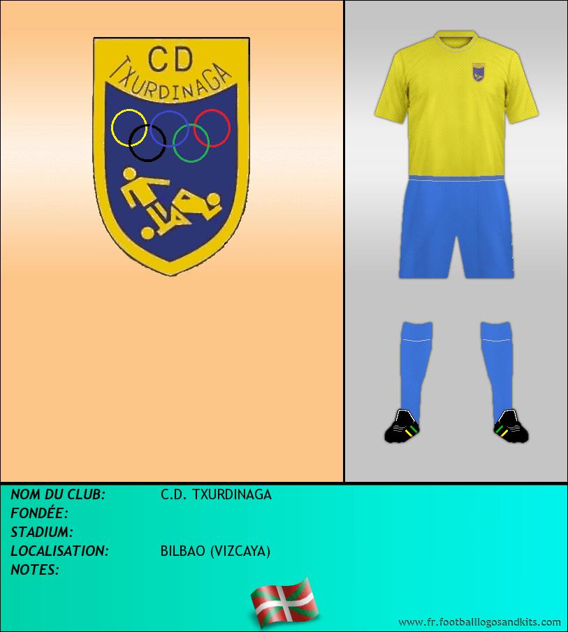 Logo de C.D. TXURDINAGA