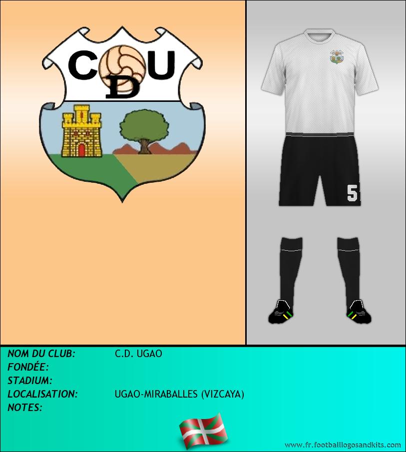 Logo de C.D. UGAO